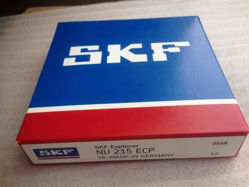 SKF NU215 ECP Bearing sizes 75x130x25 mm Single Row Cylindrical roller bearing
