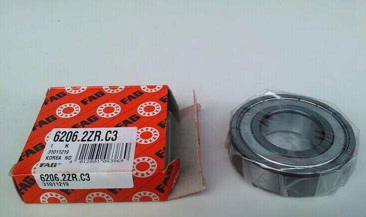High quality FAG 6206.2ZR.C3 Deep groove ball bearing 30x62x16mm