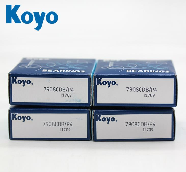 Origin KOYO Bearing 7908CDB Super Precision Angular Contact Ball Bearing