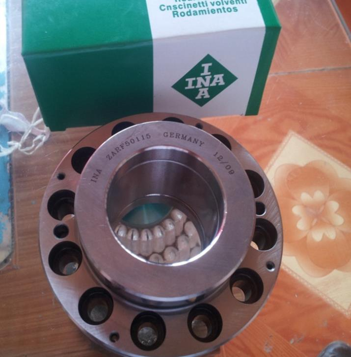 China agent INA bearings ZARF50115-TV needle roller thrust cylindrical roller bearings