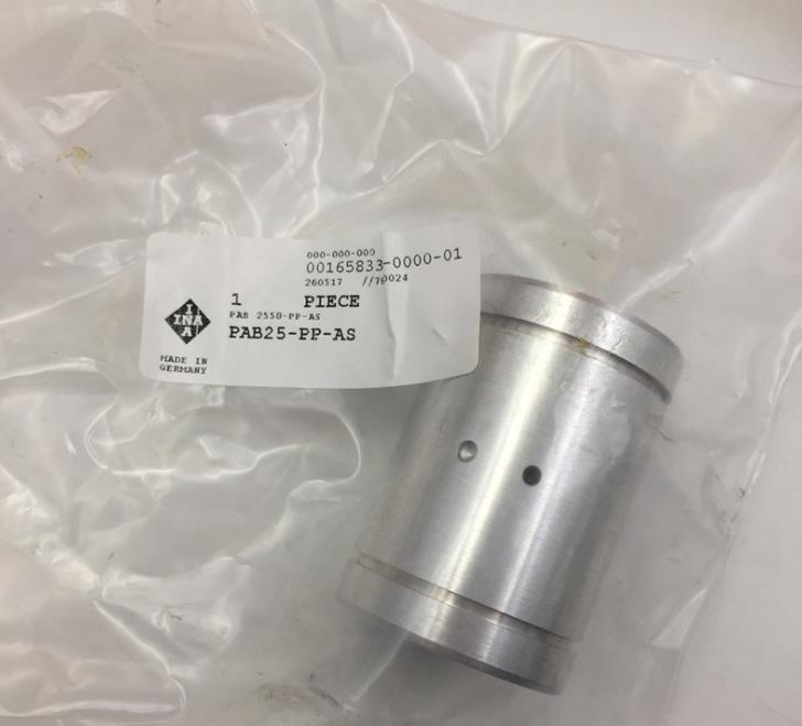 High precision German INA linear sliding bearing PAB25-PP-AS bearing