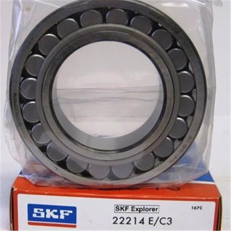 High temperature spherical roller bearing SKF 22214E advanced technology
