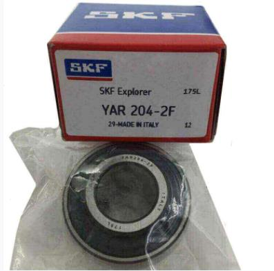 SKF YAR204 High Quality Good Performance Pillow Block Bearings YAR 204 YAR204-2F YAR204-2RF 21*47*31mm