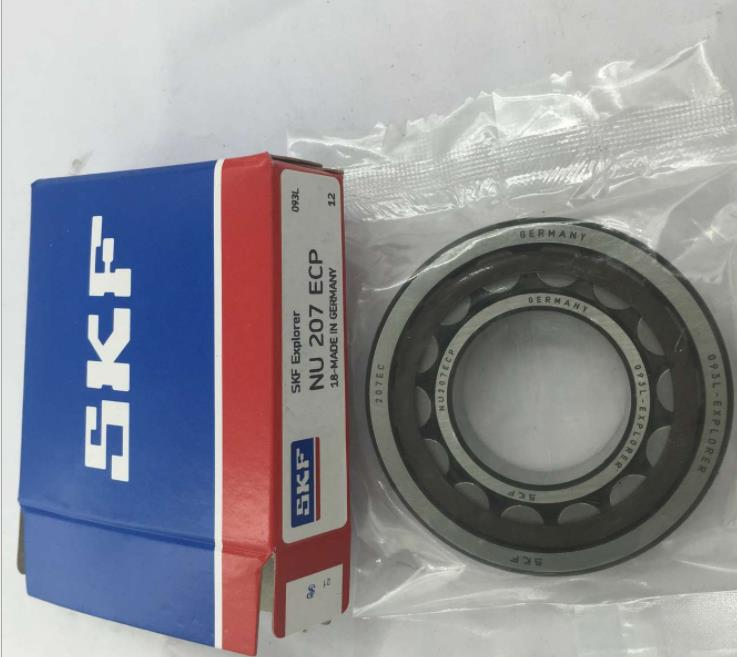 high speed high quality large stock SKF NJ207EW Cylindrical Roller Bearings NJ207 bearings with single row
