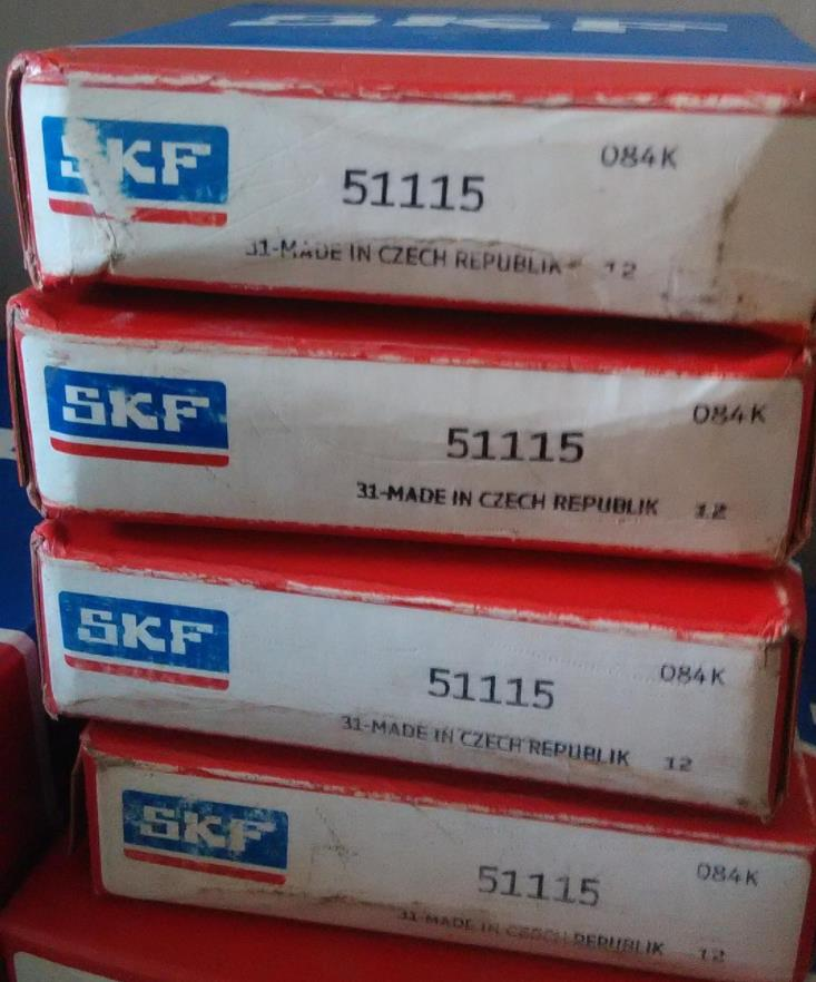 Skf Bearing 51115 Thrust Ball Bearings With Good High quality skf 51108 bearing 40*60*13mm 51108 thrust ball bearing