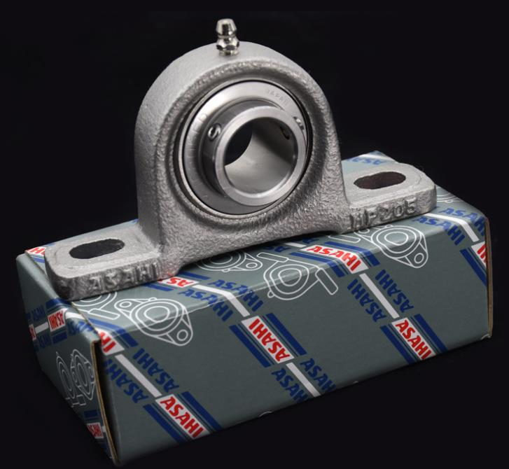 Original imported MUCP205 stainless steel outer spherical bearing seat ASAHI with seat bearing