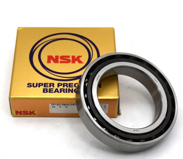 Original Import Super Precision Spindle Bearing Angular Contact Ball Bearing NSK 7013CTYNSULP4 Machine tool spindle bearing