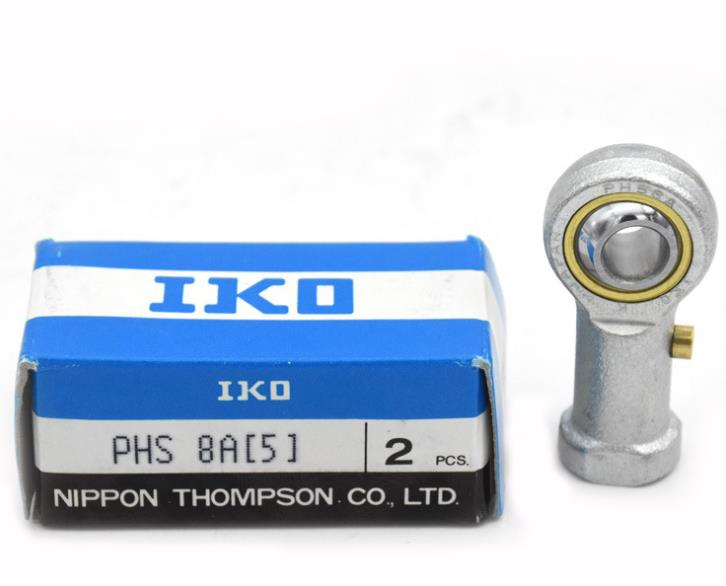 Machinery part female tread joint bearing IKO PHS8 rod end ball bearing
