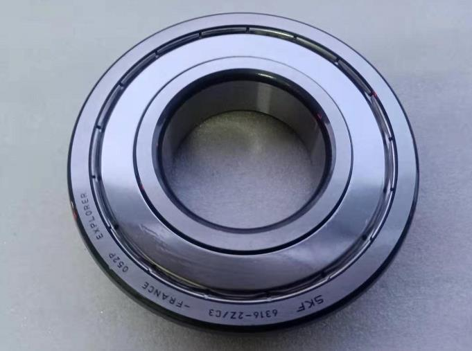 SKF 6316 2Z C3 Deep Groove Ball Bearing 80X170X39MM Made in France