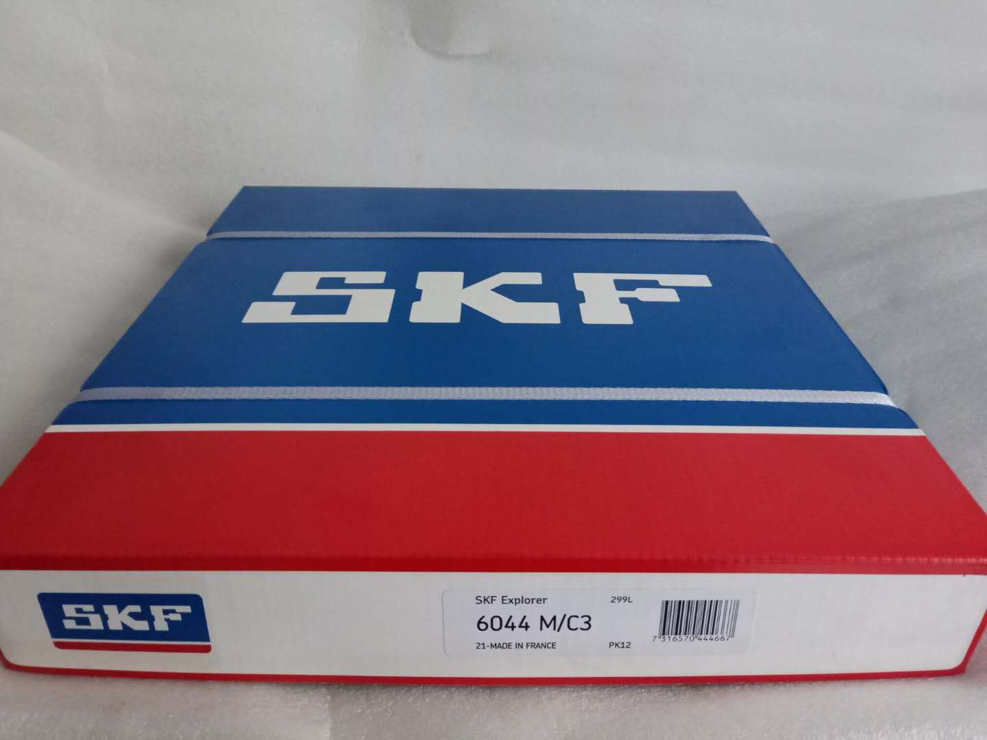 High Precision SKF 6044M Deep groove ball bearings size 220X340X56mm