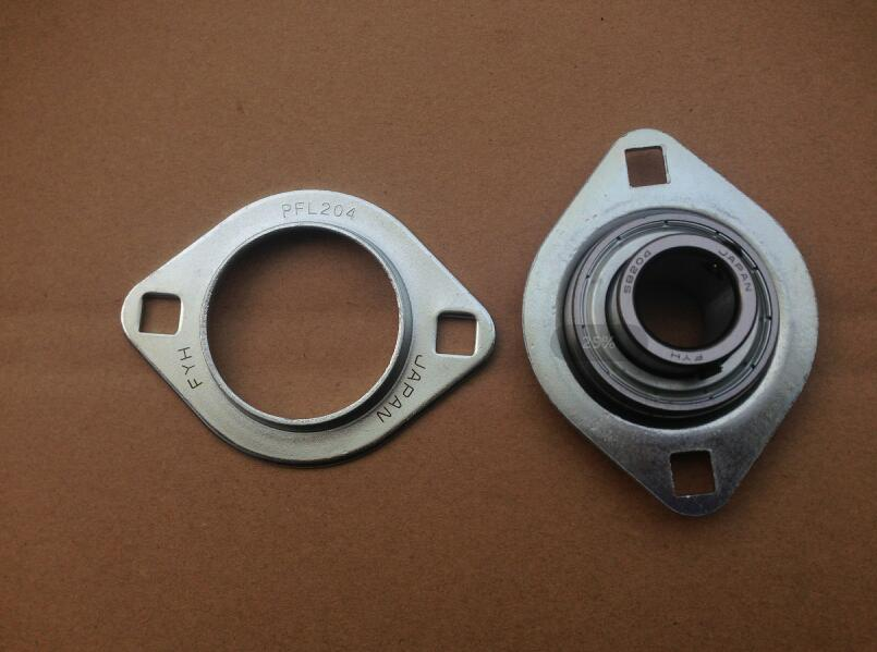 FYH SBPFL204 stamped pressed steel housing unit pillow block bearing With Insert Ball Bearing SB204