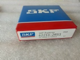 SKF origin import bearing 62211-2RS1 stock 55x100x25mm